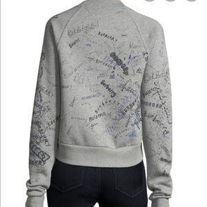 Burberry Scribble-Print Sweatshirt